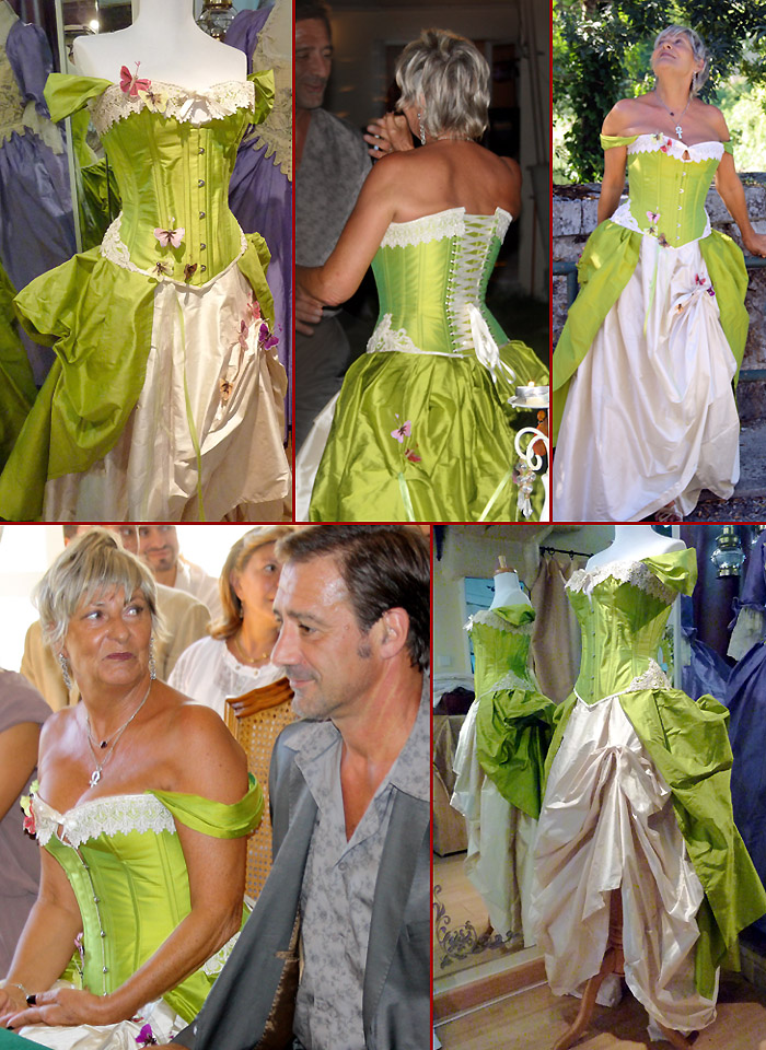 Volute Corsets Creatrice Robe De Mariee Sur Mesure A Orleans